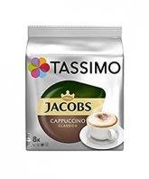 Jacobs Tassimo Cappuccino 8 capsule cafea + 8 capsule lapte