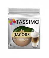 Jacobs Tassimo Latte Macchiato 8 capsule cafea + 8 capsule lapte