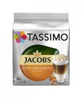 Jacobs Tassimo Caramel Macchiato 8 capsule cafea + 8 capsule lapte